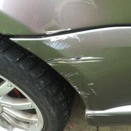 bumper scuff...